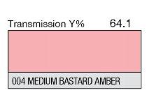 004HT Medium Bastard Amber
