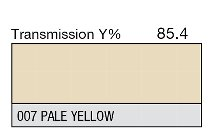 007 Pale Yellow 1-inch