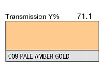 009 Pale Amber Gold 1-inch