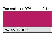 787 MARIUS RED 1-INCH CORE