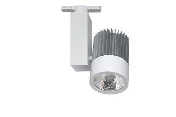 LED Track Light Tube 33W 840 230V SCHWARZ 60°