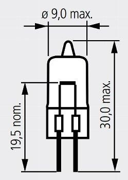 55165 6V 30W G4