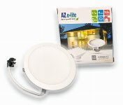 AZSENCE 4-inch LED Round Downlight LDR412