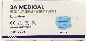 3-Layer Surgical Masks 3PLY IIR