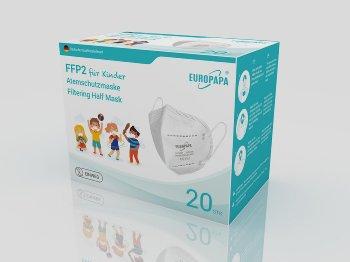 FFP2 masks with short strap