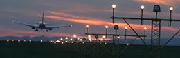 Airfield lighting for runways