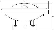 HALOSPOT 111 100 W 12 V 45° G53