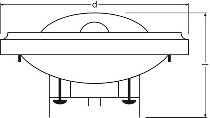 HALOSPOT 111 PRO 50 W 12 V 24° G53