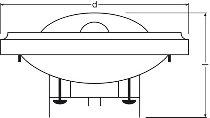HALOSPOT 111 PRO 60 W 12 V 6° G53