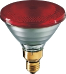 PAR38 IR 175W E27 230V Red 1CT/12