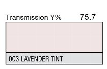 003 Lavender Tint 1-inch