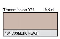 184 Cosmetic Peach 1-inch