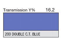 200 Double C.T. Blue 1-inch