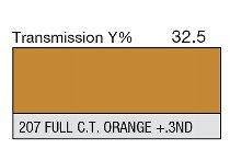 207 Full C.T. orange + .3ND 1-inch