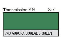 740 Aurora Borealis green