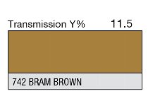 742 BRAM BROWN 1-INCH CORE