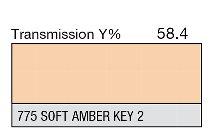 775 Soft Amber Key 2 1-inch