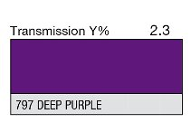797 Deep Purple - 1-inch