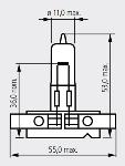 55205 SH5205 12V 50W PY24-1,5
