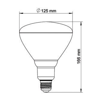 GROLUX LED E27 VEGETATIVE