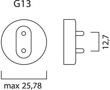 F30W/T8/840