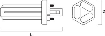 LYNX-TE 26W/840 FSD