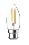 93115523 - LED Fil Candle 4.5W 827 B22 CL TU