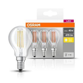 OSRAM BASE CLASSIC P40 4W/2700K E14