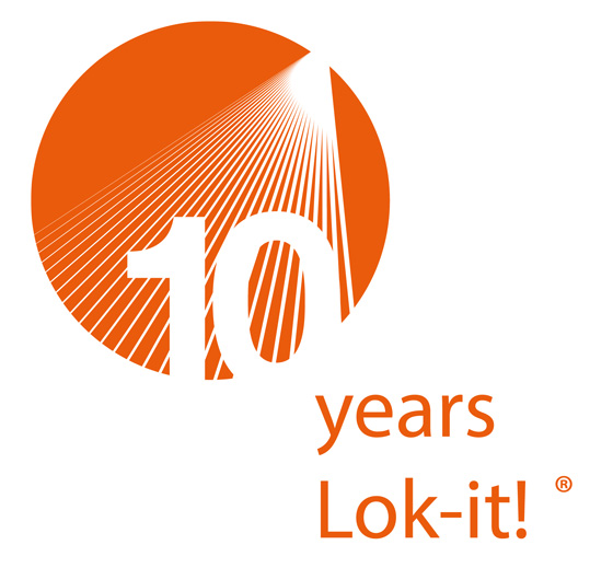 10_years_Lok-it_logo