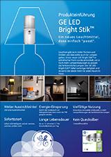 GE_LED-Bright-Stik-Produkteinfuehrung