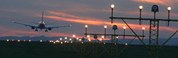 Airfield lighting for runways