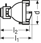 Osram XBO R 180W/45 OFR Xenon short-arc lamp