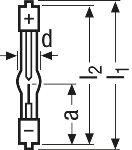 Osram XBO 75W/2 Xenon short-arc lamp