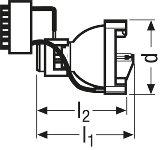 Osram XBO R 100W/45C Xenon short-arc lamp