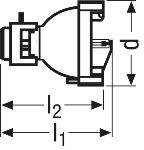 Osram XBO R 100W/45 OFR Xenon short-arc lamp